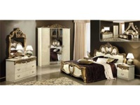 Bedroom Barocco Ivory Gold